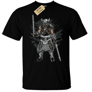 Dark Viking T-Shirt Mens norse warrior top