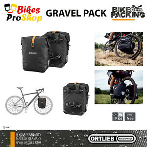 ORTLIEB Gravel Pack (Pair) - Bike Bicycle Panniers Bags WATERPROOF GERMANY 2021