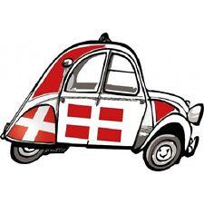 Stickers Autocollant 2 Chevaux, 2 CV Emblème Savoie