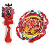 Beyblade Burst B-117 REVIVE PHOENIX + B-88 LR Launcher + B-123 RED GRIP SUPER Z