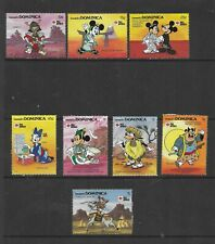 HICK GIRL- MINT DOMINICA STAMPS    DISNEY  PHILA NIPPON  '91         T199