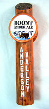 Anderson Valley Brewing BOURBON BARREL STOUT & BOONT Amber Ale  Beer Tap Handle