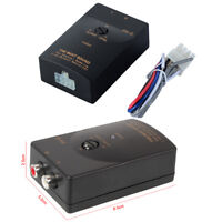 Auto Car Stereo Speaker Level Converter stereo speaker outputs to RCA outputs
