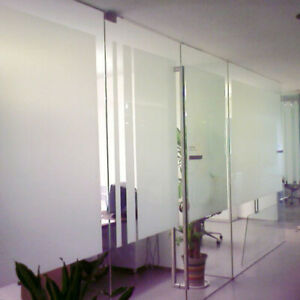 DIY Translucent Frosted Privacy Frost Home Kitchen Bathroom Window Film Stickers