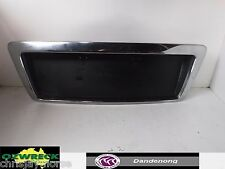 HOLDEN COMMODORE VY VZ BERLINA/CALAIS NUMBER PLATE GARNISH CHROME
