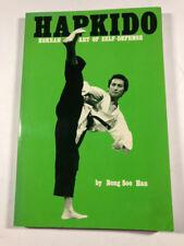 Hapkido Korean art of Self-Defese by Bong Soo Han 1995