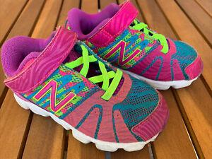 New Balance KV890TRI Toddler Shoes Baby Girls Mesh Adjustable Athletic Pink 7