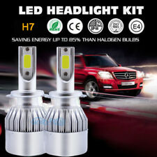 LED Headlight Bulbs For Kia Optima Sedona Sportage Sorento High Low Beam Kit H7