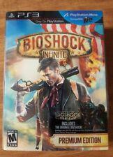 BioShock Infinite -- Premium Edition (Sony PlayStation 3, PS3, 2013) New Sealed