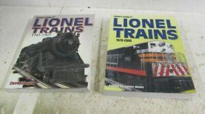 STANDARD CATALOG OF LIONEL TRAINS LOT (1945 - 1966 & 1970 - 2000)
