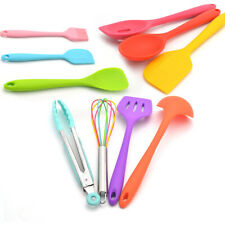 10pcs Silicone Kitchen Utensils Multicolor Non-stick Cookware Cooking Tools Set