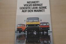 178954) Volvo F 609 611 613 Prospekt 04/1975