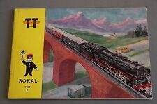 X328 ROKAL Train CatalogueTT 1959 ?? pages 21*14,7 cm F