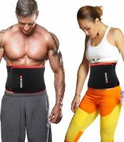 Reformer Athletics Waist Trimmer Ab Belt Trainer for Faster Weight Loss. Free Sm