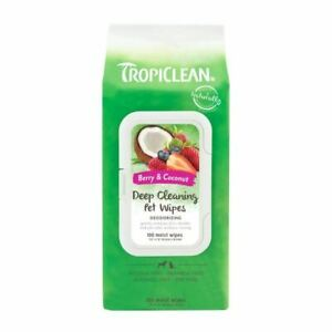 Tropiclean Deep Cleaning Wipes 100s - 261554
