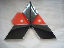 "*NEW* MITSUBISHI Emblem Badge Triple Diamond (3.75"" x 3.25"") 2008-13 7415A111"