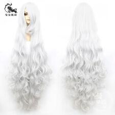 Fate Grand Order FGO Анастаси́я Anastasia Cosplay Silver Hair Wig Anime 120cm ZZ