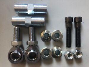 Escort Mk2 Rose Joint Steering Track Rod End Conversion Kit In-Situ Adjustable
