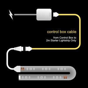 CONTROL BOX Cable |fits Philips Hue Lightstrip Plus V4 Control Box| upto 10m/30'