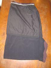 Cop-Copine - Jupe longue en 2 parties - noir touches de bordeaux - M