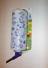 Lixit 32z Ferret Rabbit Guinea Pig Cage Water Bottle  Purple Cute Pet Outlines