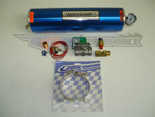 Canton 2 Quart Two QT Accusump Oil Accumulator Kit EPC Electric Valve 35-40psi