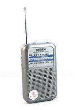 New Portable DEGEN-333 AM (530~1600KHz) FM (87~108MHz)Radio Receiver Mini Handle