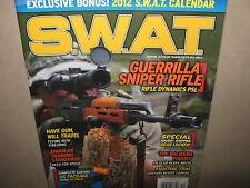 NEW! S.W.A.T. Dec 2011 Guerrilla Sniper Rifle SEALED 2012 CALENDAR Weapons Gun