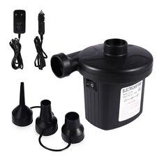 12V Electric Air Pump Inflator Deflator - Ac Wall Plug and Dc Car Lighter Plug