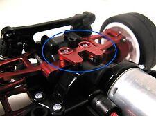 RC CAR Upgrade Hop Up Alloy REAR BOX STIFFENER Fits TAMIYA TT-01 TT01 UK RED