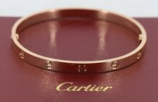 Cartier 18K Rose Gold Love Bracelet Size 20