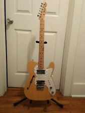 Fender 2012 Natural Finish Thinline Telecaster Reissue with Hardcase