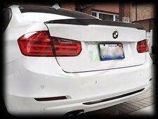 BMW 3 Series F30 F80 M3 Rear Trunk Boot Lip Spoiler [PRIMED & QUALITY]