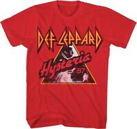 DEF LEPPARD - Hysteria '87 - T SHIRT S-2XL New Official Live Nation Merchandise
