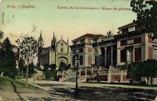 spain, MADRID, Iglesia de los Jerónimos y Museo de Pintura (1908)