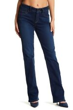 NYDJ Not Your Daughters Jeans Barbara Slim Boot Cut in Provence, Dark - Size 0