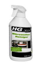 HG Mikrowellen Reiniger - Stark gegen FETT & Angebranntes ESSEN - Kraft Intensiv
