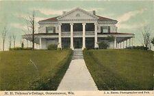 Wisconsin, WI, Oconomowoc, M H Tickenor's Cottage 1910's Postcard