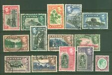 CEYLON 1938-49 SG 386/97C USED Cat £30