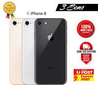 Apple iPhone 8 64GB/256GB Sil Grey Gld Unlocked Cheap Smartphne AUSTRALIAN STOCK