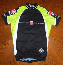 VERGE SPORT ROCK SHOX CYCLING JERSEY, SIZE: SMALL (2), RACE FIT, MTB, ROAD, SPIN