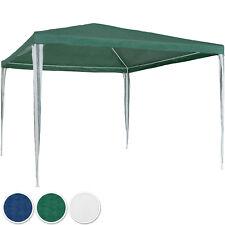 Tonnelle de jardin auvent chapiteau tente pavillon de jardin 3x3 m vert bleu bla