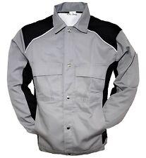 Bundjacke Arbeitsjacke Jacke Berufsjacke Berufskleidung Grau/Schwarz Gr 46-56