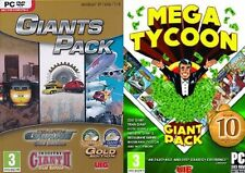 Traffic Giant Gold&Transport Giant Gold&Industry Giant 2 Gold &mega tycoon pack