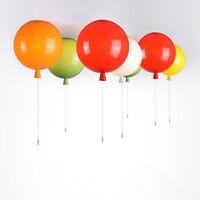 Children's Balloon DIY Ceiling Fixture LED Pendant Light Home Decor Chandelier