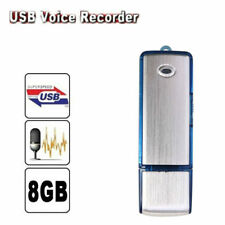 8GB Mini Disk Pen Drive Digital Audio Voice Recorder 150 hrs Recording USB NEW