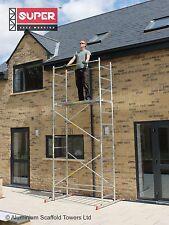 Super eDIY 5M Aluminium scaffold tower, Welded frames = 1/3 stronger than others