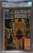 All Star Western #10 CGC 9.6 Off White to White Pages 1st Jonah Hex