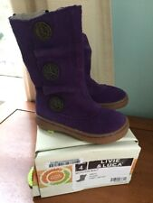 Nib Livie And Luca Marchita Boot Size 4 Toddler Girls Shoes Grape