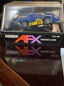 Aurora AFX Model Motoring race car toy